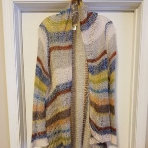 Boutique lightweight wrap sweater